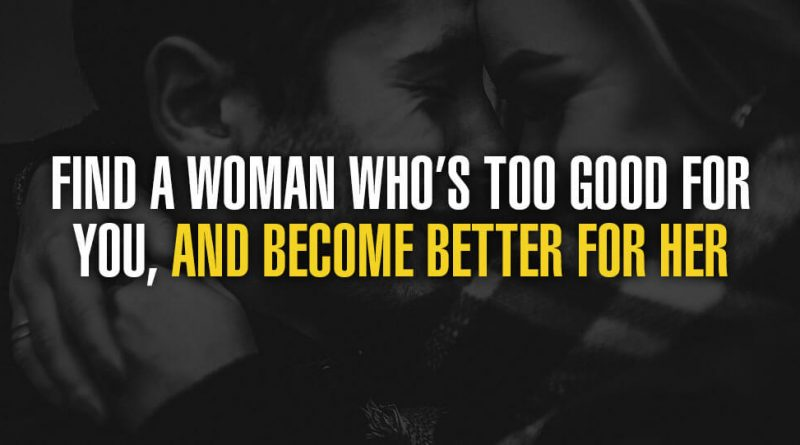 find a woman who