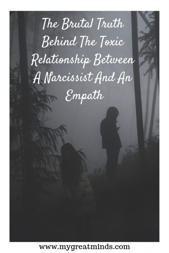 The Brutal Truth Behind The Toxic Relationship Between A Narcissist