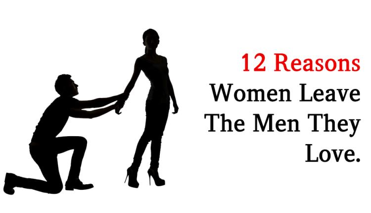 do men leave women they love